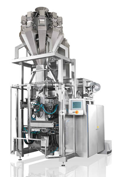 Packaging machine vertical- form- fill- and seal machine RM-600